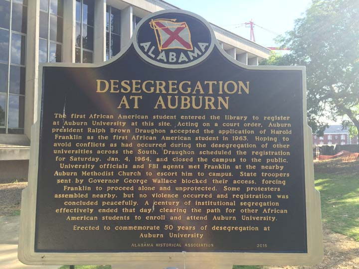 Desegregation at Auburn