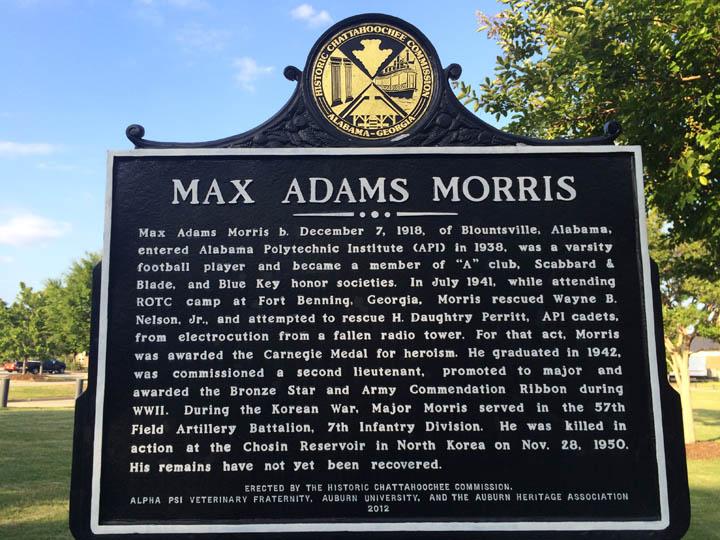 Max Adams Morris Drill Field