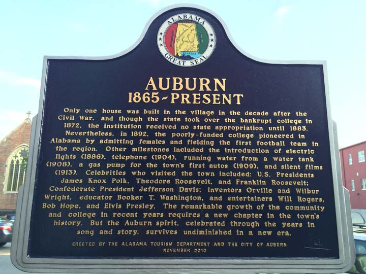 Auburn 1865 - Present