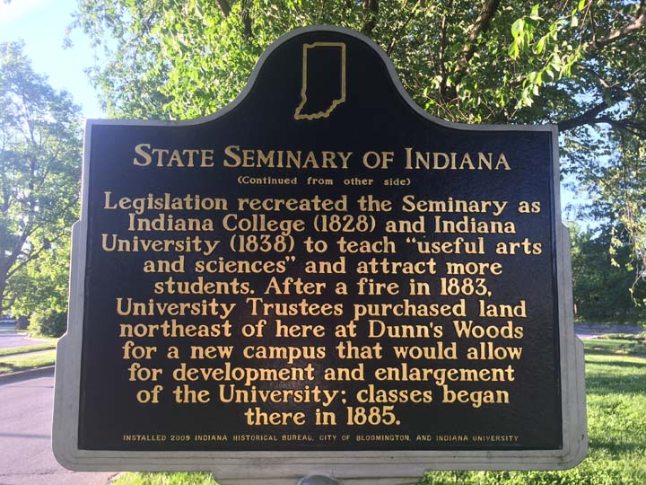 State Seminary of Indiana
