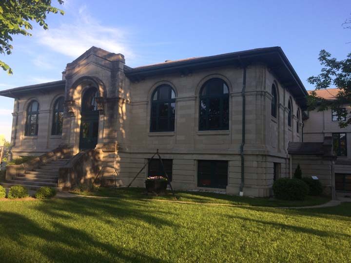 Monroe County's Carnegie Library