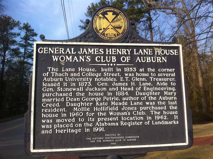 General James Henry Lane House