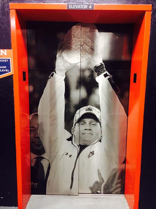 Gene Chizik elevator