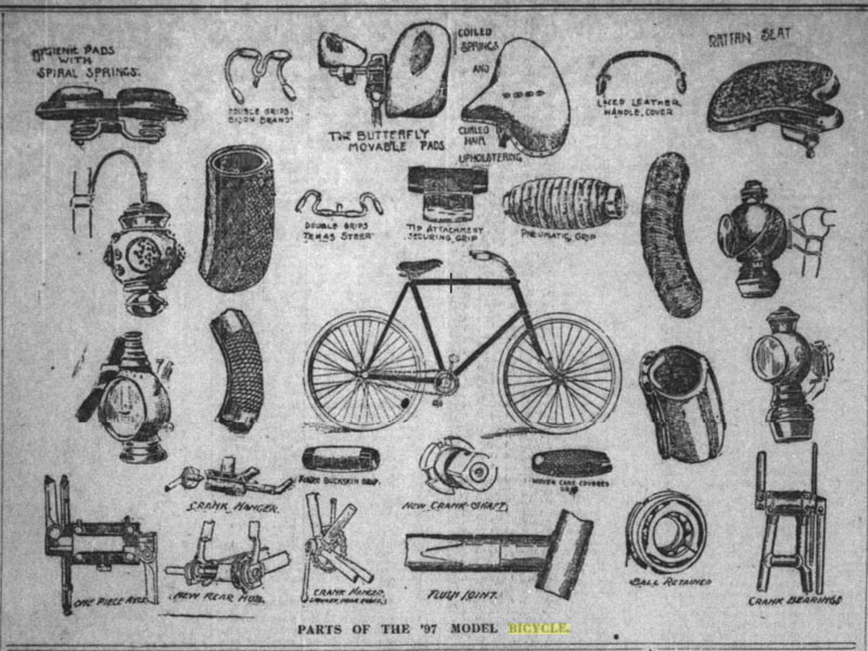 1897 bicycles