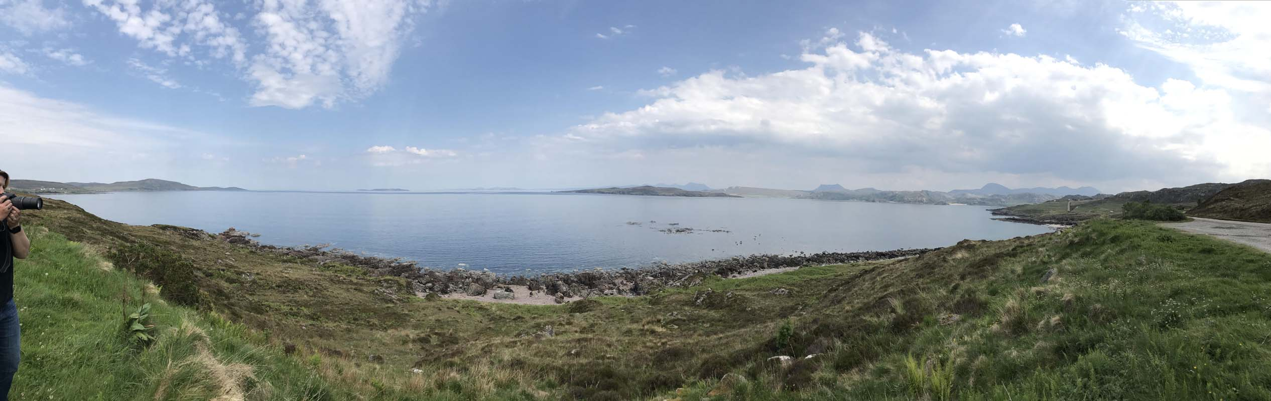 Udrigle Beach panorama